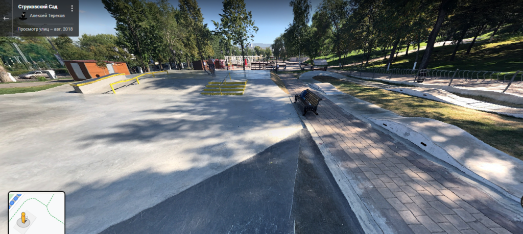 Струковский парк - скейтпарк, велопрокат в Самаре